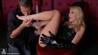 Hot blondie Monique Alexander fucked by a younger guy Preview Image