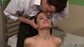 Skinny Amanda Baby gets tied up and disciplined Preview Image