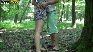 Outdoors amateur porn with horny chick in the forest Preview Image