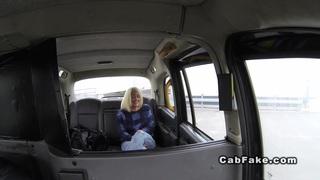 Cab driver fucks big ass blonde public reality Preview Image