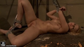 Katy Borman force to let a hot babe_biting a ball Preview Image