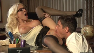 Christie Stevens shoves this hard dick down her throat Preview Image