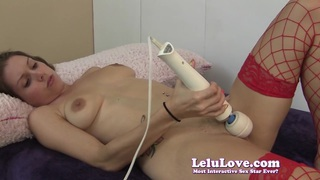 Lelu Love-Stockings Masturbation Blowjob_Cum On Tits Preview Image