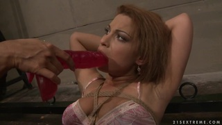 Many Bright_hot lesbian force dildo fuck a hot babe Preview Image