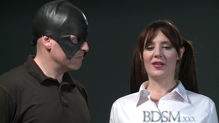 BDSM XXX Pale skinned sub has mind and pussy fucked up Preview Image