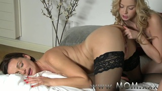 MOM Lesbian MILF makes love to her girlfriend Preview Image