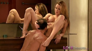Love Creampie Big tits milf fucked in the bathroom Preview Image