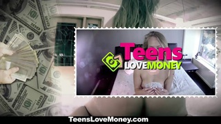 TeensLoveMoney - Hot Blonde Gets Picked Up, Paid And Fucked Preview Image