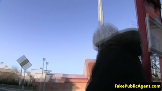 Real euro fucked in a car by lying agent Preview Image