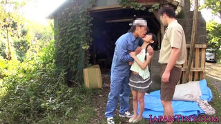 bendable facialized_oriental teens mmf threesome Preview Image