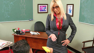 Misty Vonage & Mikey Butders in My First Sex Teacher Preview Image