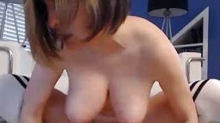 Huge Natural Tits Babe Rides her Toy Preview Image