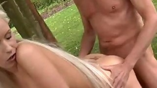 Paul is liking his breakfast in the garden with his fresh girlfriend. Preview Image