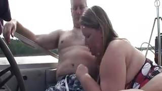 BBW Gives A Blowjob On A Boat Preview Image
