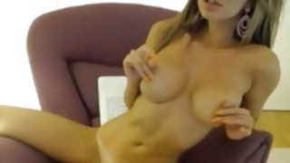 Busty amateur blonde girl shos of on cam Preview Image