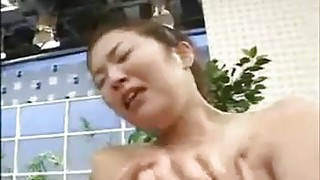 Busty Japanese Girl Played With Preview Image