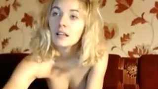Blonde with Big Tits Webcam SHow Preview Image