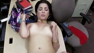 Cuban chick sells her TV and gets rammed Preview Image