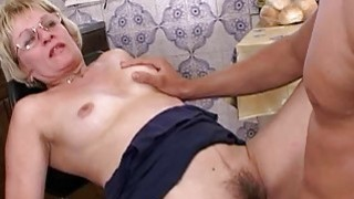 Mature Blonde Stepmom In Glasses Early Morning Sex Preview Image