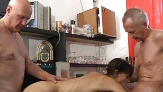 Xxx rimming anal and cuminmouth in old young 3som Preview Image