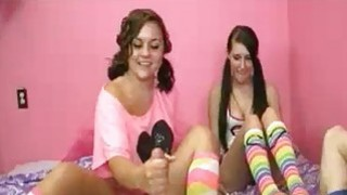 BFF Teens Decide To Milk Off Ones Stepbrother Preview Image
