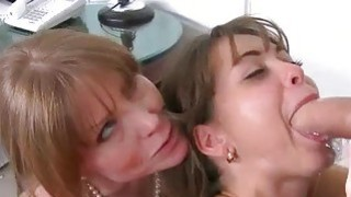 Stepmom Darla Crane threesome sex in bed Preview Image