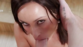 Great cumshot and penis inside of her throat Preview Image
