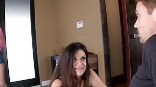 India Summer and Teal Conrad horny threesome session Preview Image