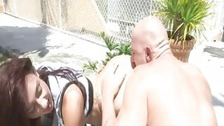Hot pornstar babe Mandy Muse ass licked Preview Image