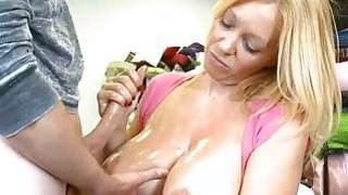 Teen slut truly loves making handjobs very much Preview Image