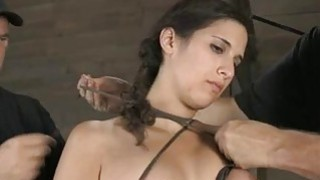 Tormented serf is giving slaver a lusty blowjob Preview Image