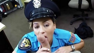 Lady Police Officer Hocks_Her Gun Preview Image