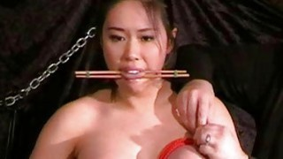 Busty asian bdsm and needle tortures of Tigerr Jug Preview Image