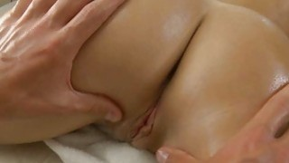 Delicious masseur is plowing babes cunt wildly Preview Image