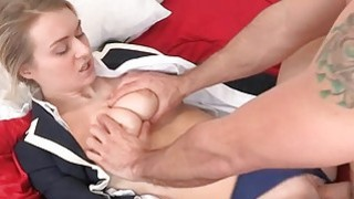 Sweetheart rides on dudes dick with vigorously Preview Image