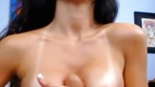 Brazilian Bombshell Shows Boobs and Fucks Her Pussy On Webcam Preview Image