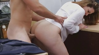 Pretty babe got pussy fucked for_some quick cash Preview Image