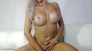 Horny blondie dildo riding At Home Preview Image