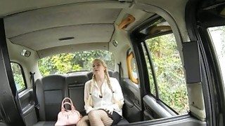 Hot blonde passenger fucked by older man in the backseat Preview Image