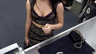 Babe trying to sell a ring turns to hard fuck with pawn guy Preview Image