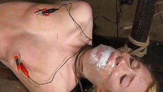 Cutie gets facial torture during bdsm play Preview Image