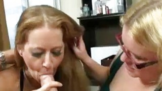 Guy Eyes On Mom And StepDaughter With A Hardon Preview Image