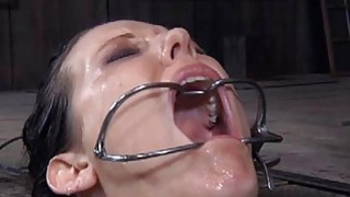Clamped up girl_receives her fuck holes_tortured Preview Image