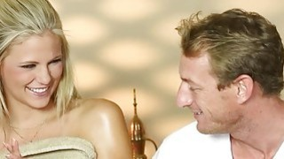 Secret voyeur movie of nasty masseur copulate customers Preview Image