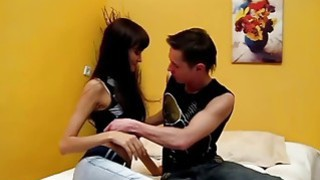 Casual Teen Sex - Cutie_got creampie_on a first date! Preview Image