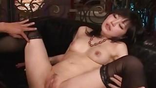 Lingerie model Hikaru Kirameki takes_big dick_in her holes Preview Image