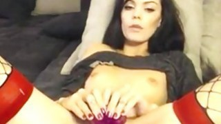 Horny brunette Webcam Toying Preview Image