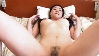 Miho Wakabayashi applies great force in a big cock Preview Image