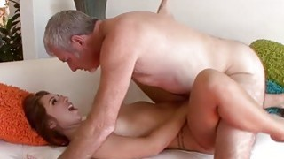 Horny hot babe Ariana Grand fucking a huge meaty c Preview Image