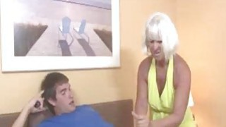 Horny Granny Gets Excited Seeing This Guys shirt Preview Image